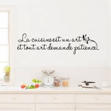 sticker citation cuisine stickers muraux phrases top stickers muraux pour la cuisine