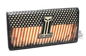 Harley Davidson Flags Hdmwa10533 Harley Davidson Mens Uno Flag 1 Skull Logo Black