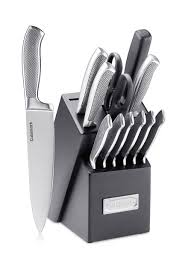 cuisinart 13 piece stainless steel cutlery block set belk