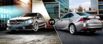 lexus is 250 van mercedes benz cla vs lexus is 250
