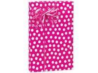 pink gift wrap hot pink white polka dot gift wrap wrapping paper 16