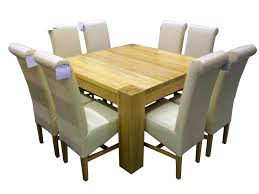 Dining Room Sets For 8 People Bedroom Personable Contemporary Square Dining Room Table For