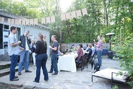 backyard beer tasting party make ahead crockpot slider menu and