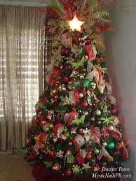 red green gold christmas tree christmas ideas pinterest