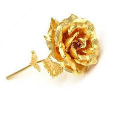 gold dipped roses 24k gold foil plated wedding decoration golden gold