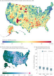 Mississippi Zip Code Map by Us County Level Trends In Mortality Rates For Major Causes Of
