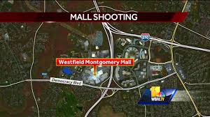 montgomery mall map 3 injured in westfield montgomery mall shooting