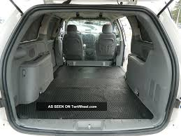 dodge grand caravan interior dimensions