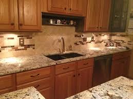 peach kitchen ideas alluring cream color travertine kitchen backsplash come with white