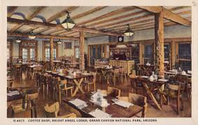 Grand Canyon Lodge Dining Room by Grand Canyon Postcard Roundup