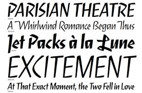 font bureau fonts font font release serge a lively script by cyrus