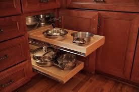 Corner Kitchen Cabinet Storage by Oak Wood Driftwood Raised Door Corner Kitchen Cabinet Storage