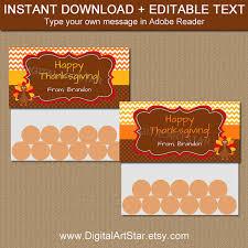 thanksgiving treat bag toppers printable thanksgiving