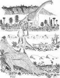 dinosaur colouring book 2 u2013 tetrapod zoology