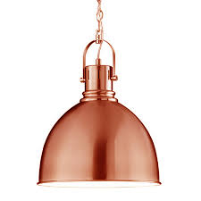 Copper Pendant Lights Industrial Pendant Lamp Copper Contemporary Hanging Light