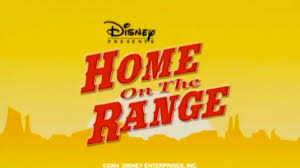 home on the range 2004