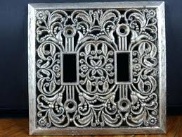 fancy light switch covers decorative light switches new wall switch plates covers intended for