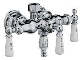 Bathtub Faucet Shower Diverter Elegant Wallmount Leg Tub Faucets
