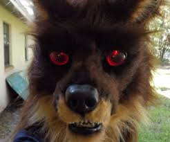 Werewolf Mask Realistic Werewolf Mask With Light Up Eyes 8 Steps With Pictures