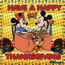 happy thanksgiving from mickey minnie picture 75972724