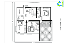 residential floor plans 5 bhk floor plan for 25 x 25 feet plot 2500 square feet