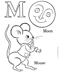 letters coloring pages printable alphabet coloring sheets letter m for kids u003c3 pinterest