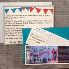 Wedding Invitations San Antonio Beautiful Basketball Wedding Invitation Tickets With Rsvp Ticket