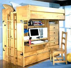 Diy Loft Bed With Desk Loft Bed Plans Ianwalksamerica