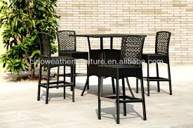 Barcelona Outdoor Furniture by New Design Poly Rattan Barcelona Outdoor Furniture Bar Table