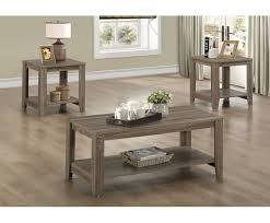 3 piece coffee table set loon peak jalen 3 piece coffee table set reviews wayfair