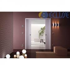 eclisse sliding pocket door system double door kit to suit