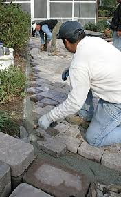 How To Cut Patio Pavers Without A Saw A Concrete Paver Patio From The Bottom Up Fine Homebuilding
