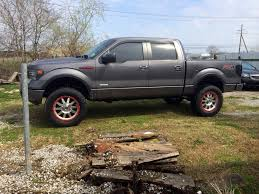 Ford Raptor With Lift Kit - 2009 2013 f150 4wd rancho 4 inch lift kit rs6518b