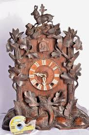 How To Wind A Cuckoo Clock 19th Century Black Forest Mantle Shelf Cuckoo Clock Key Wind