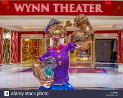 Buffet At The Wynn by The Jeff Koons Popeye Sculpture Display At The Wynn Hotel In Las
