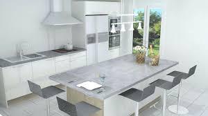ilot pour cuisine ilot cuisine blanc cuisine gris blanc cuisine avec ilot central