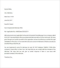 employment offer letter 6 free doc download