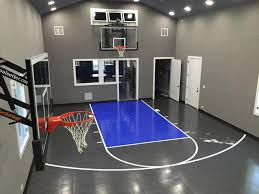 Considering A Home Gym From Sport Court Sport Court - Home basketball court design