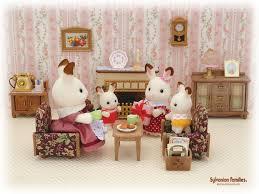 Best Sylvanian Families Images On Pinterest Sylvanian - Sylvanian families luxury living room set