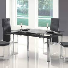 black dining room table set mesmerizing modern black dining room table photo decoration ideas