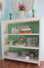 How To Do A Bookshelf Turn A Boring Drab Bookcase Into Something To Stare At With This