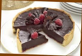 chocolate dessert recipes uk