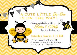 bumble bee invitations baby shower cimvitation
