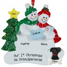 grandparent ornaments personalized grandparents christmas ornaments gifts