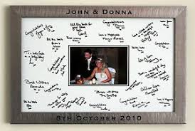 wedding signing board engraved personalised framed wedding signature signing board