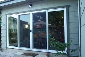 4 panel sliding glass door closed yelp