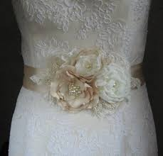 wedding sashes and belts wedding sash flower search fabric flowers