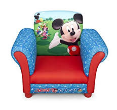 Armchair For Toddlers Disney Children U0027s Mickey Mouse Upholstered Chair Amazon Co Uk Baby