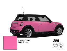 matte pink car fast u0026 free shipping 3m wrap film series 1080 matte u2013 hachi auto