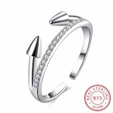 sted rings visisap bullets wedding open rings 100 s925 sterling